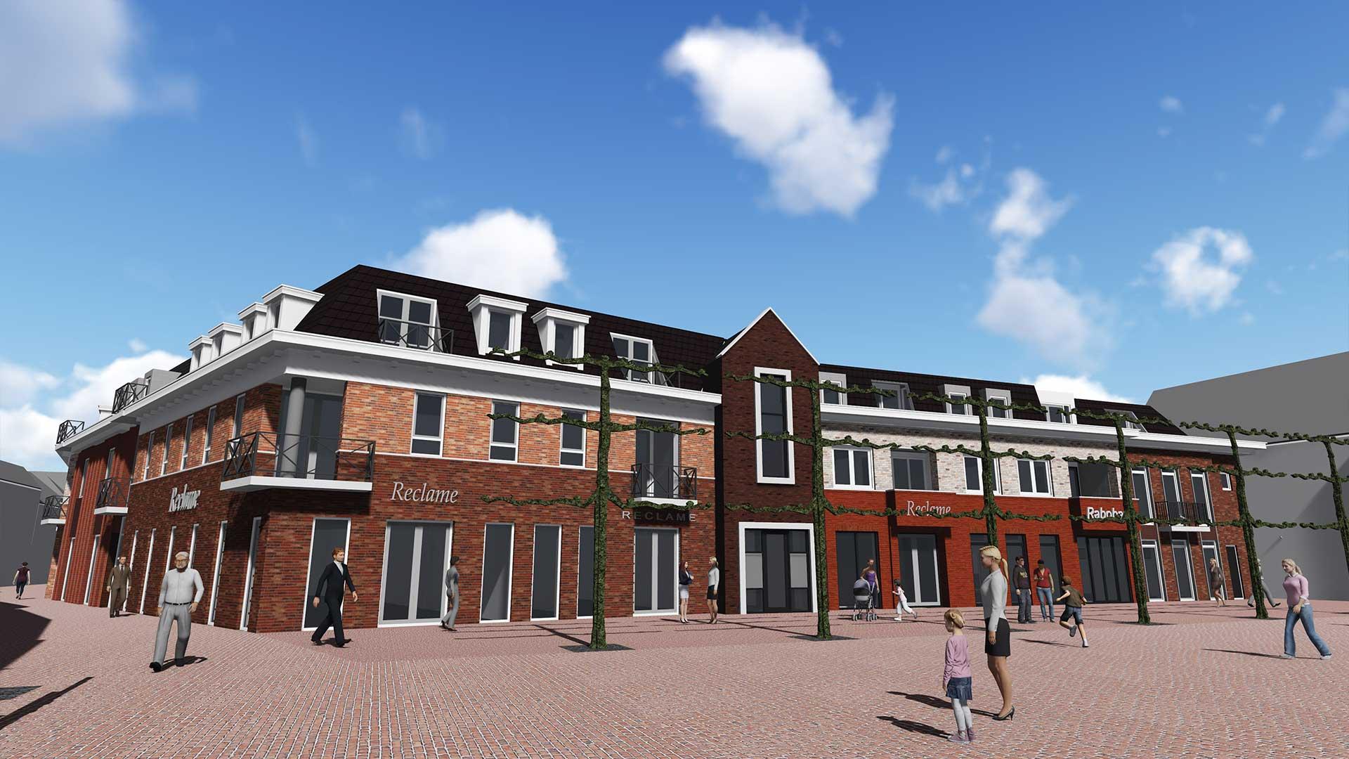 Nieuwe plannen voor kantoor Rabobank in Lochem